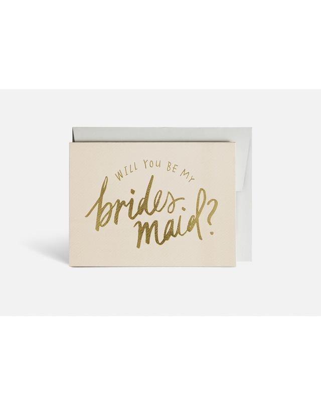 Blacklist Bridesmaid Card