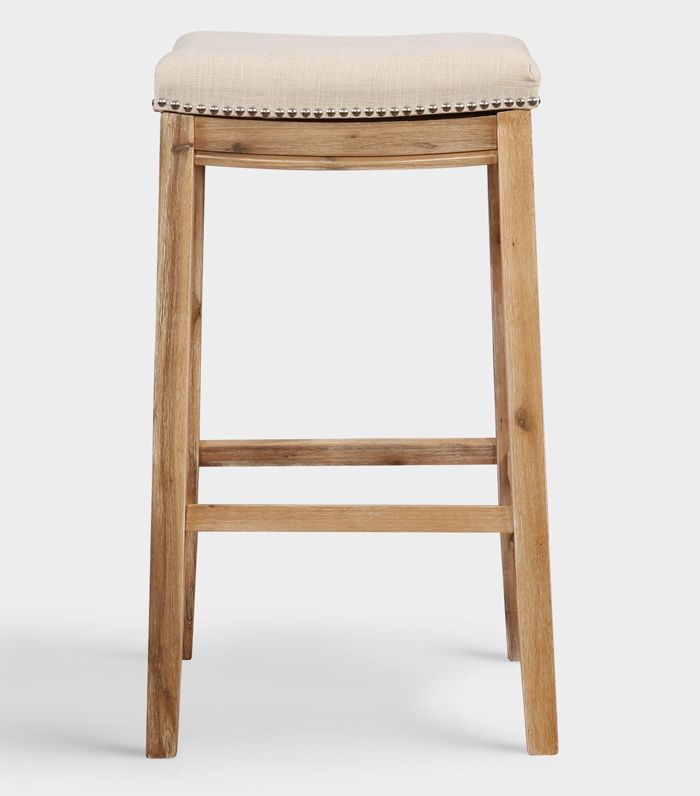 25 cheap bar stools to shop for your home mydomaine. Black Bedroom Furniture Sets. Home Design Ideas