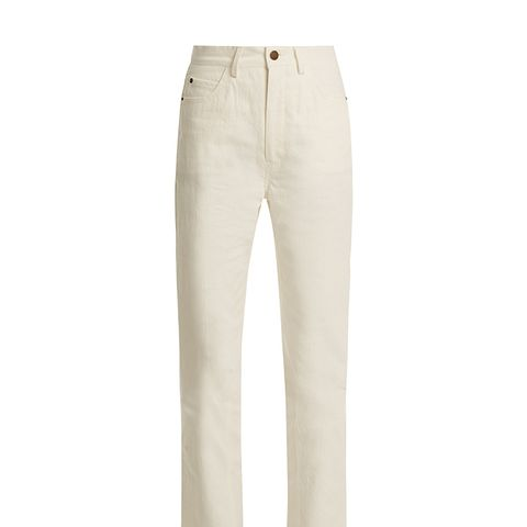 Highway High-Rise Straight-Leg Jeans