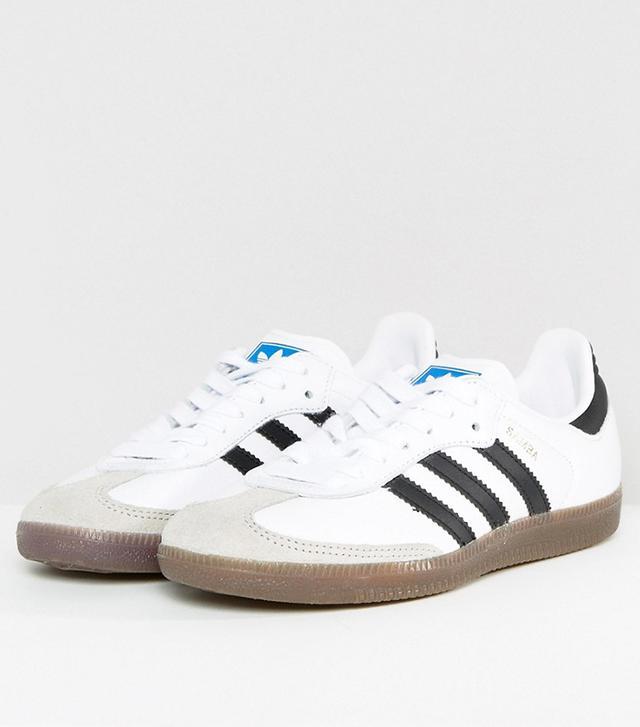 adidas Originals Samba Sneaker In White