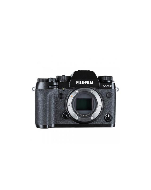 Fujifilm Black Mirrorless Camera