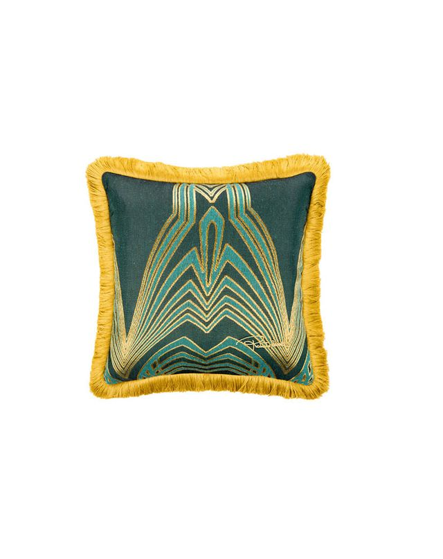 Robert Cavalli Home Deco Jacquard Cushion