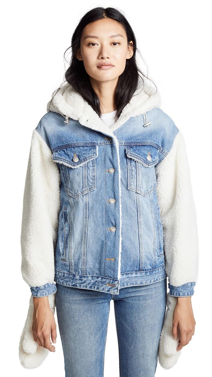 16 Sherpa-Lined Denim Jackets to Cosy Up in This Winter 16 Sherpa-Lined Denim Jackets to Cosy Up in This Winter new images