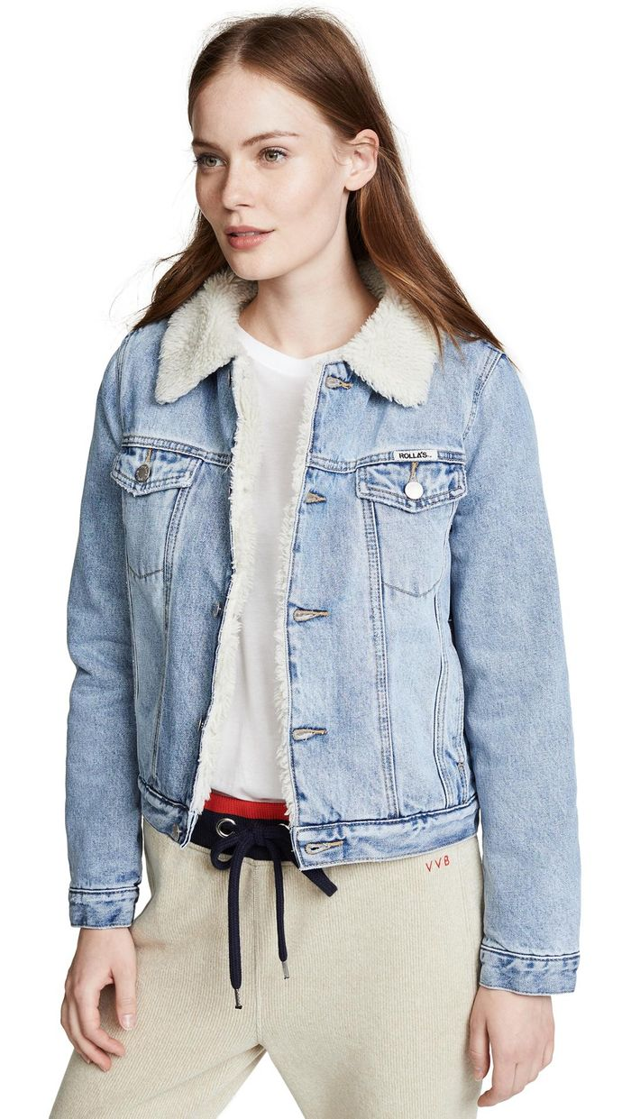 16 Sherpa-Lined Denim Jackets to Cosy Up in This Winter photo
