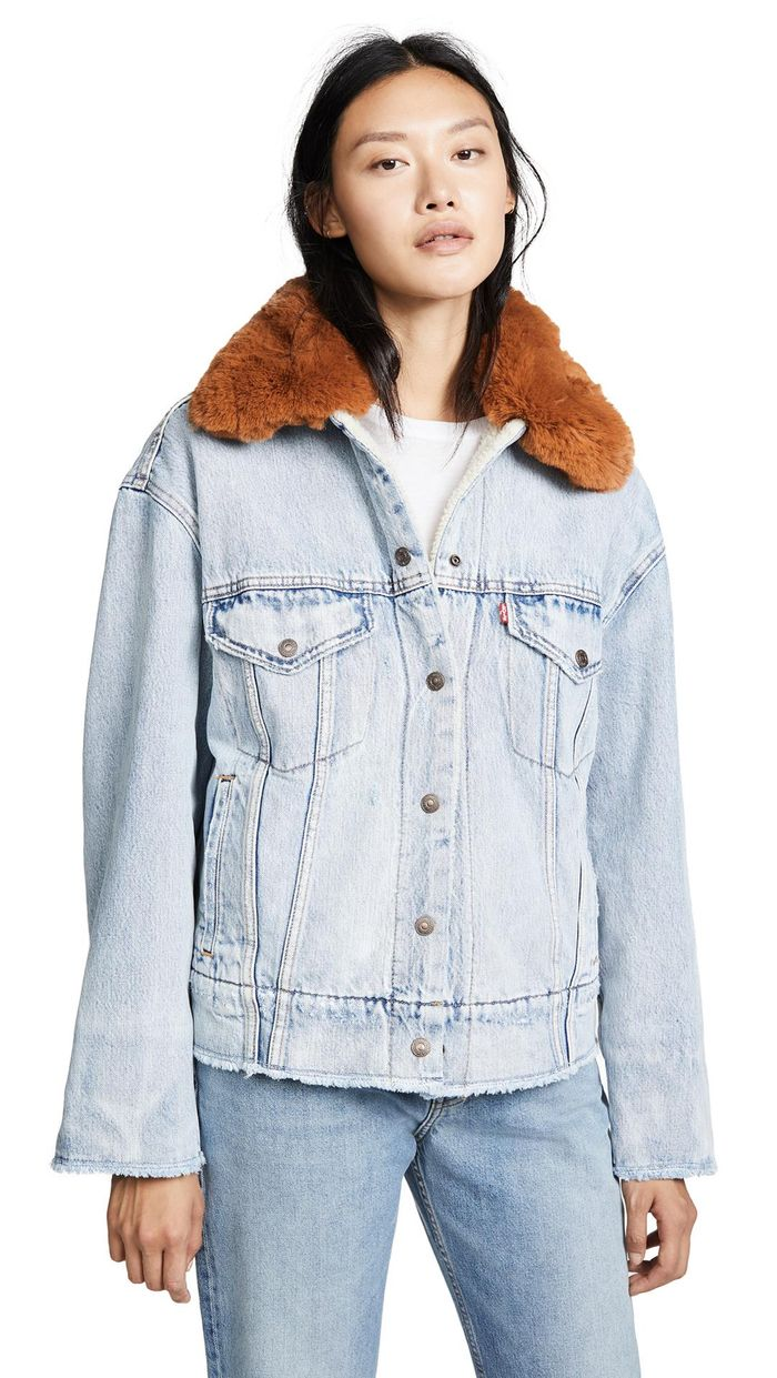 16 Sherpa-Lined Denim Jackets to Cosy Up in This Winter recommend