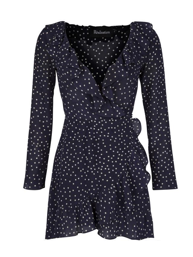 Réalisation The Alexandra Navy Star Dress