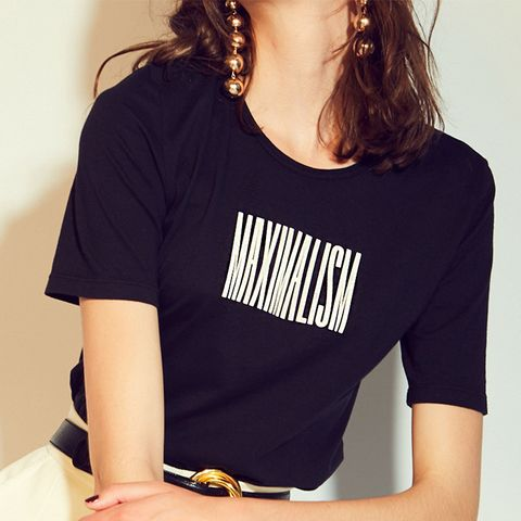Maximalism French Cut T-Shirt