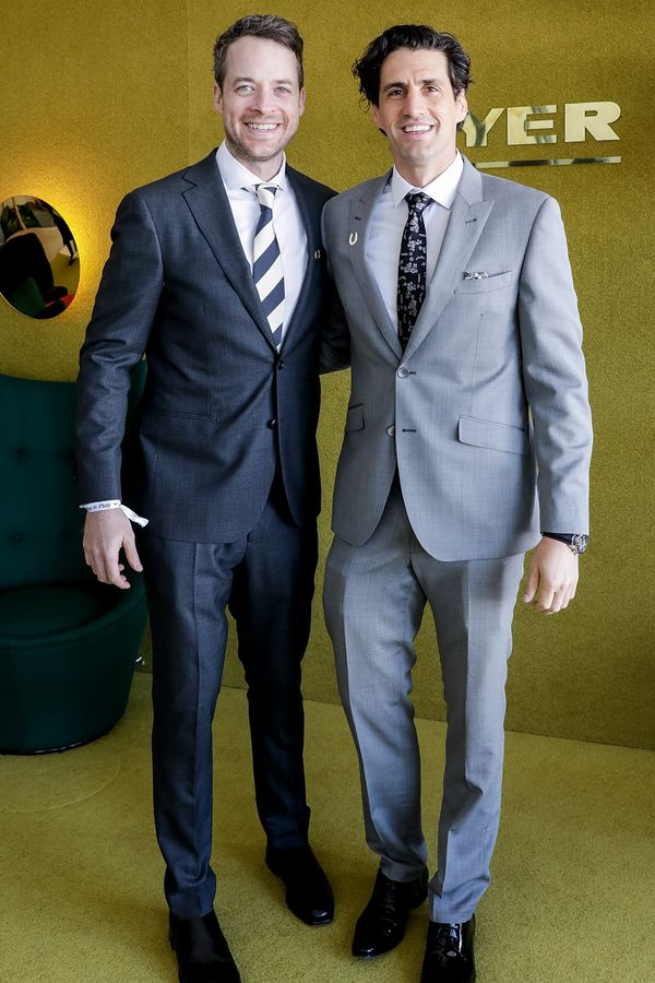 <p><strong>WHO:</strong> Hamish Blake and Andy Lee</p>