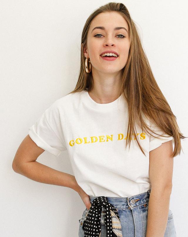 Apéro Golden Days Embroidered