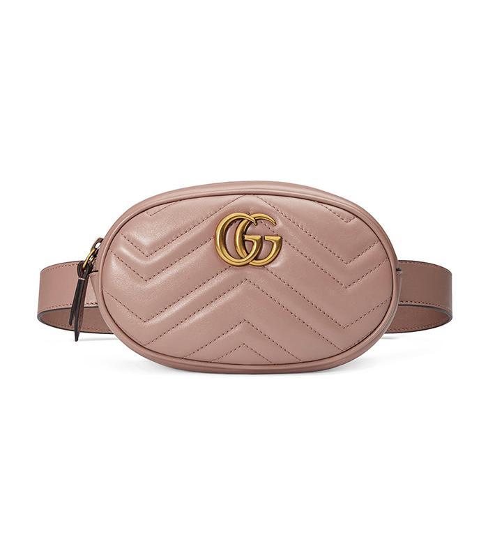 2e5269affcac Gucci GG Marmont Belt Bag ($1290) · Pinterest