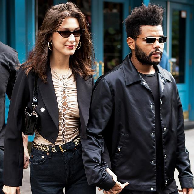 Bella Hadid & The Weeknd Street Style