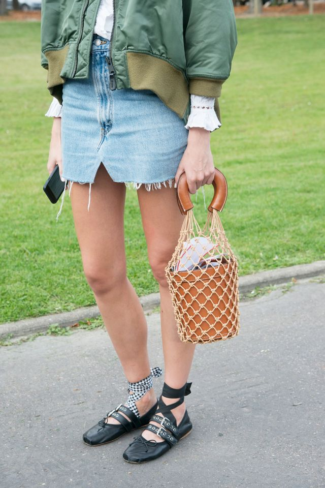 Street Style Mismatched Miu Miu Shoes
