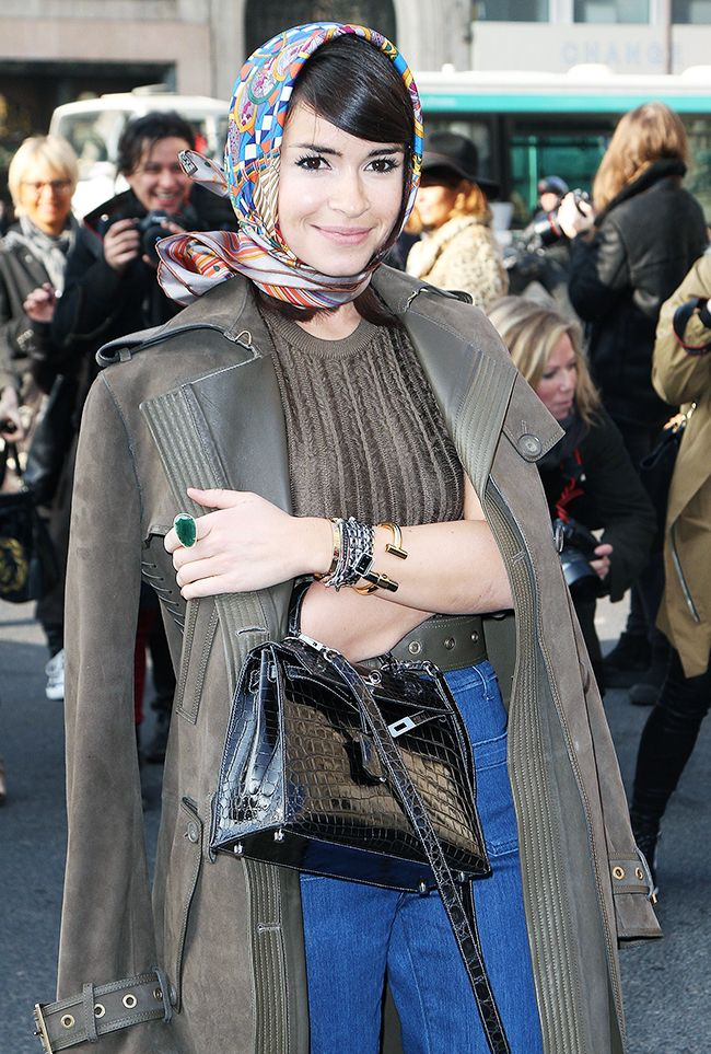 How To Style A Headscarf Who What Wear Uk