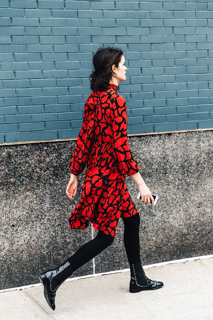 17 Ways To Wear Your Dresses With Tights And Boots Who