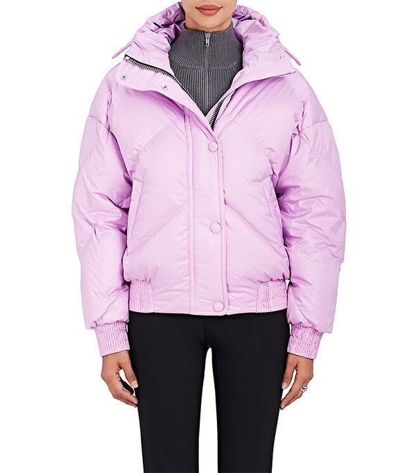 Women's Dunlop Tech-Fabric Oversized Jacket