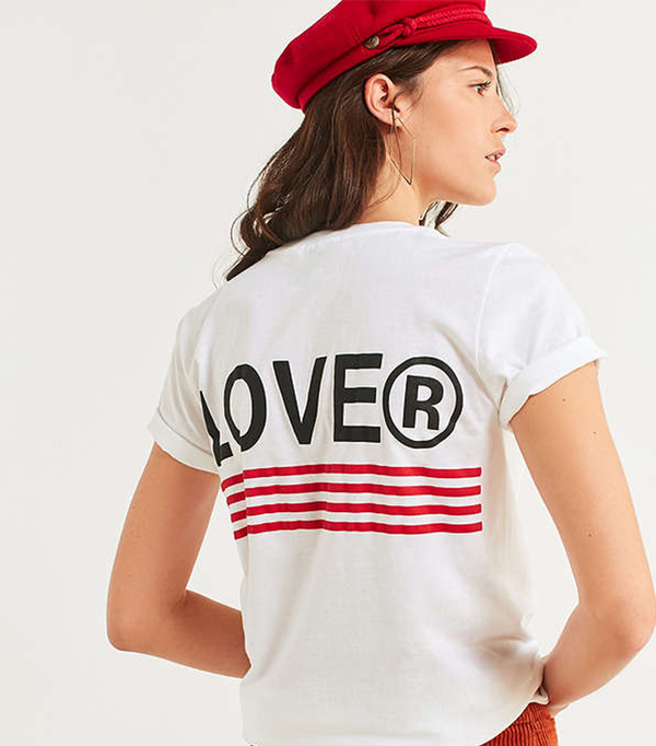 Lover Striped Tee