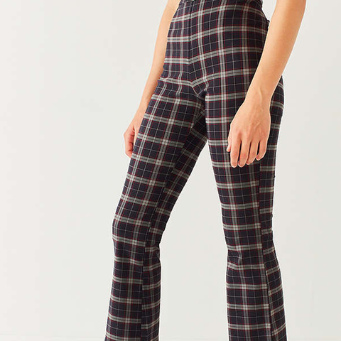Lola Plaid Kick Flare Pant