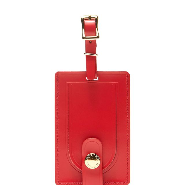 Shop Original Logo Luggage Tag in Red