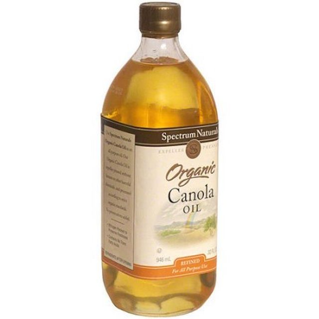 Organic Canola Oil by Spectrum Naturals