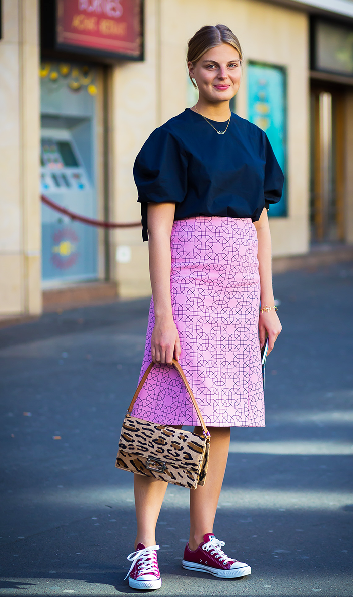 maxi pencil skirt how to wear