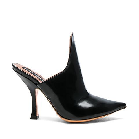 Leather Stefania Mules