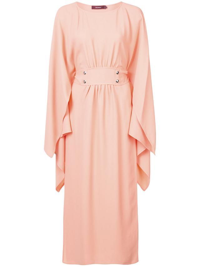 Sies Marjan Ruffle Sleeve Dress