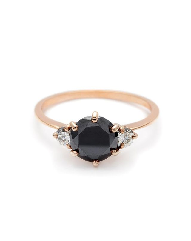 Anna Sheffield Hazeline Three Stone Ring