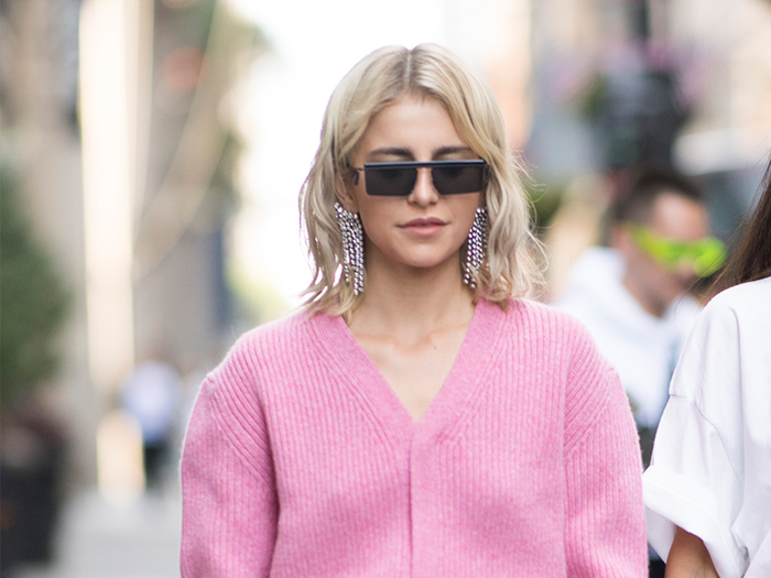 25fb1929 The 21 Best V-Neck Sweaters You Can Wear on Repeat | Who What Wear