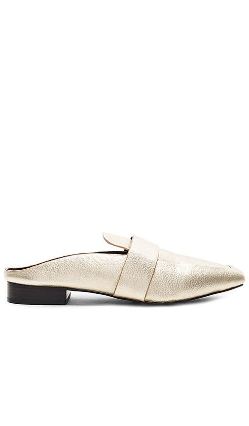 Renold Slide in Metallic Gold. - size 39 (also in 38,36,37,40)