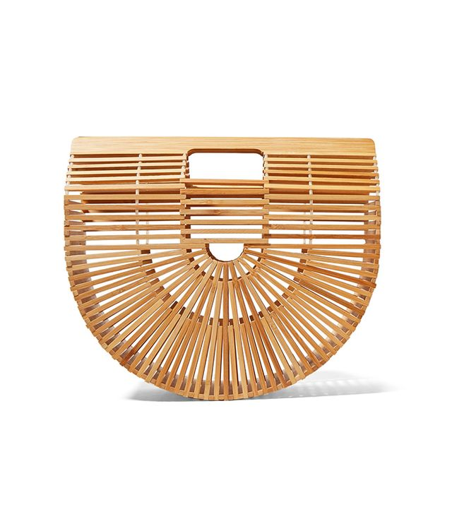 Ark Large Bamboo Clutch