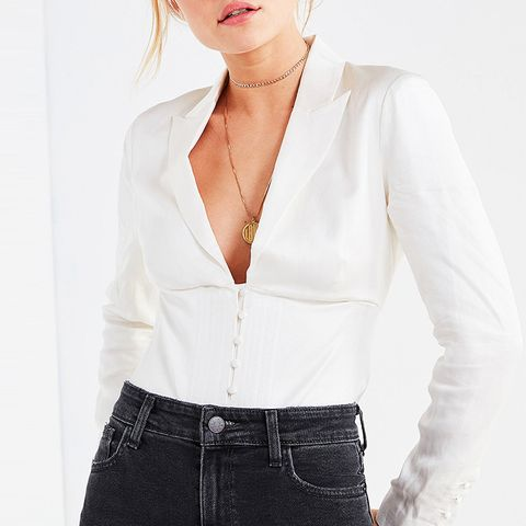 Plunging Corset Top
