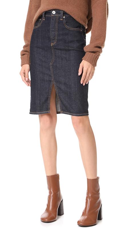 Emery High Waisted Pencil Skirt