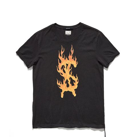 Flaming Dollar T-Shirt