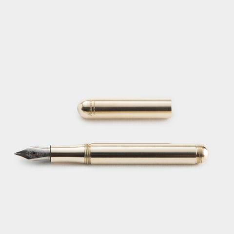 The Kaweco Lilliput Brass Fountain Pen