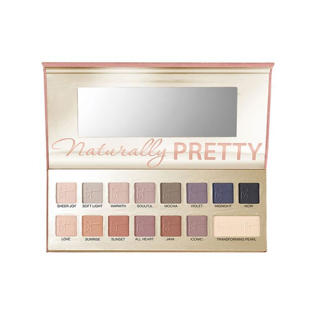 It Cosmetics Naturally Pretty Vol 1 Matte Luxe Transforming Eyeshadow Palette - makeup artist tips