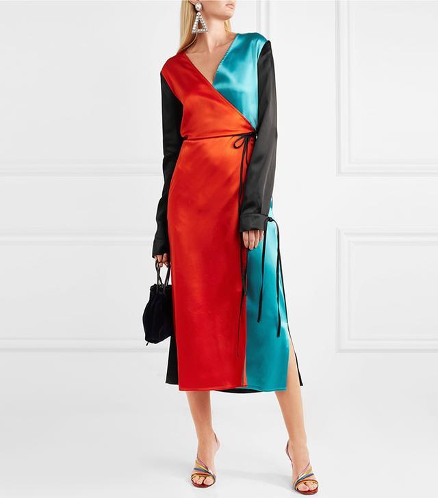 best satin robe dress