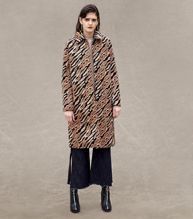 best zebra pattern coat