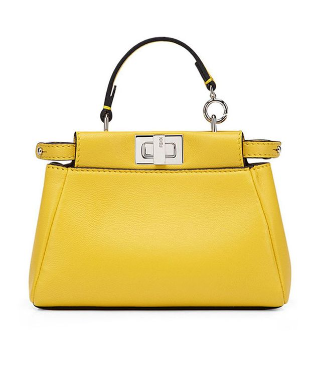 best yellow leather bag
