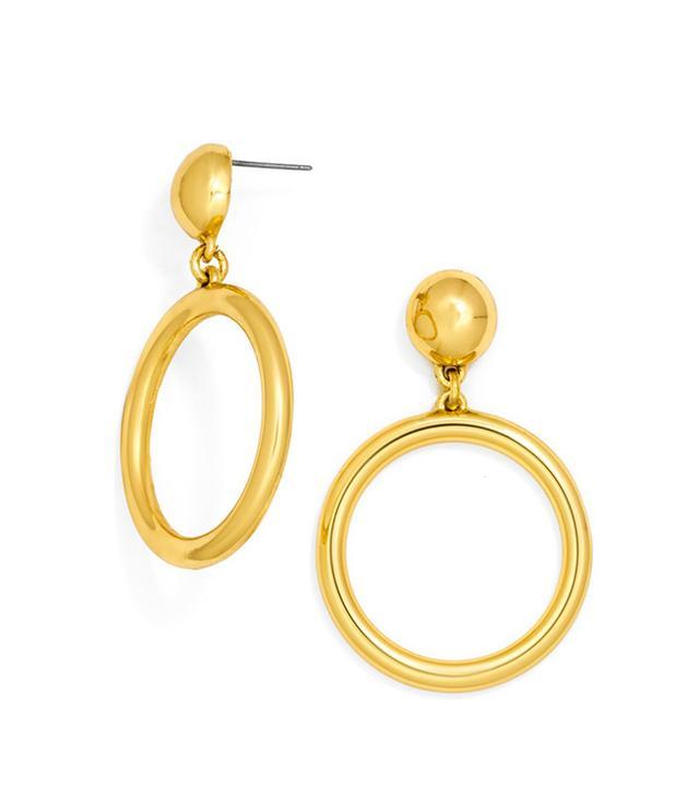 best affordable gold hoop earrings
