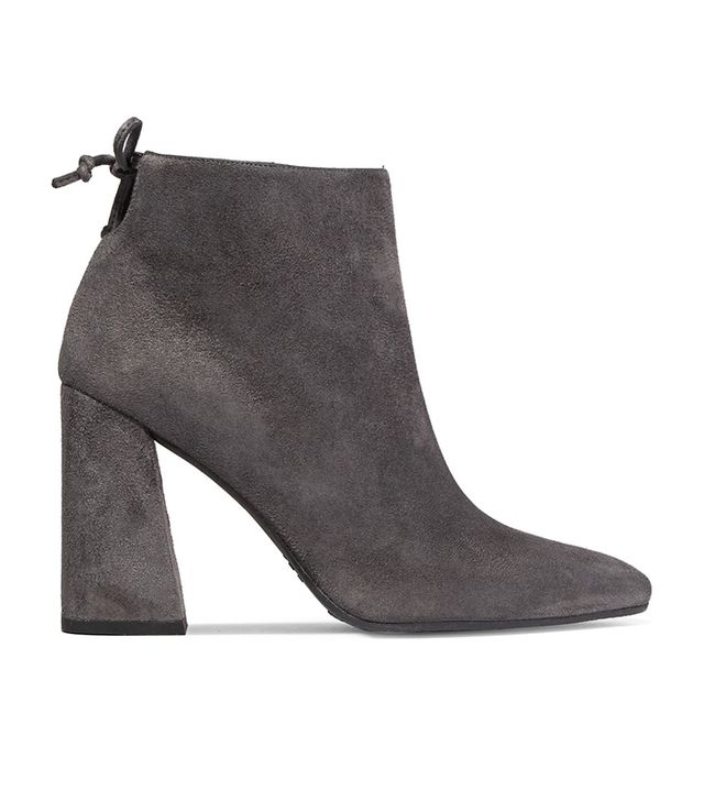 Grandiose Suede Ankle Boots