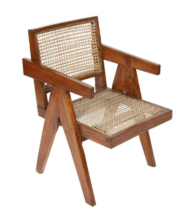 Pierre Jeanneret Office Cane Chair