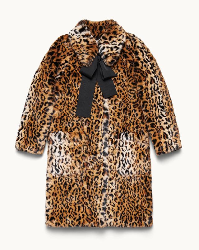 ERDEM x H&M Leopard Print Coat