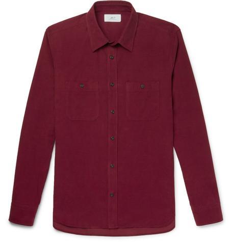 MR P. Cotton-Corduroy Shirt