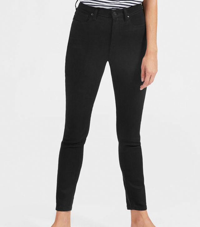 Women's High-Rise Skinny Jean (Regular) by Everlane in Stay Black, Size 32