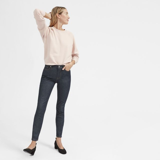 Women's High-Rise Skinny Jean (Regular) by Everlane in Dark Indigo, Size 32
