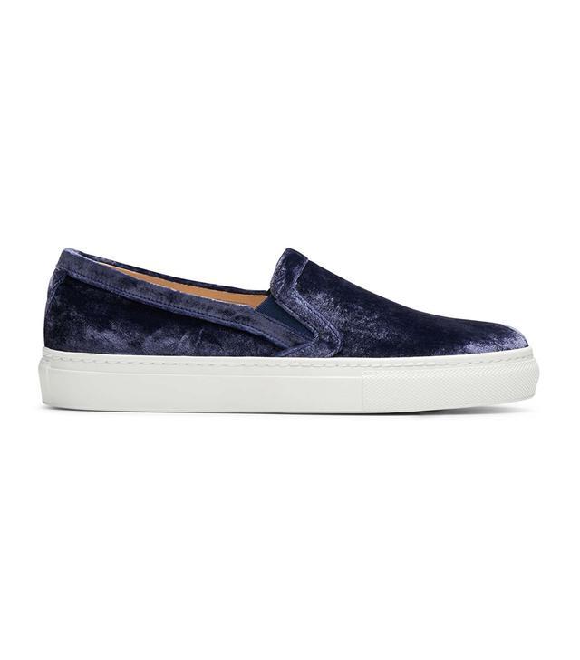 M.Gemi The Cerchio Velvet Sneakers