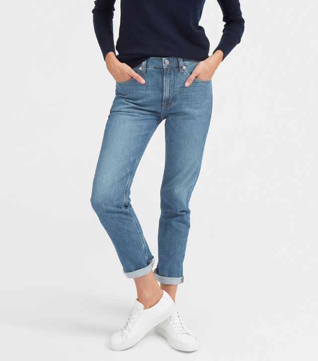 Everlane Modern Boyfriend Jean in Mid Blue
