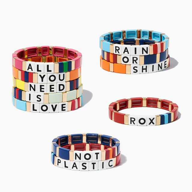 Roxanne Assoulin Just Say It Custom Bracelet