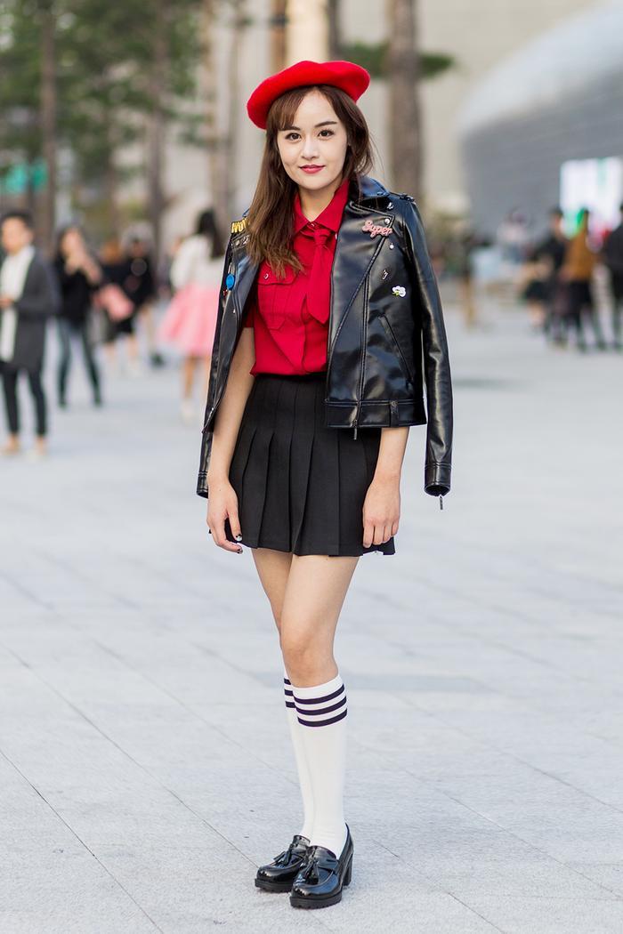How To Wear Knee High Socks Like A Fashion Girl Who What