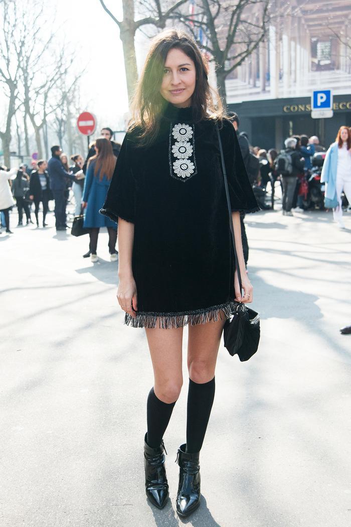 9b52eea00 How to Wear Knee-High Socks Like a Fashion Girl | Who What Wear